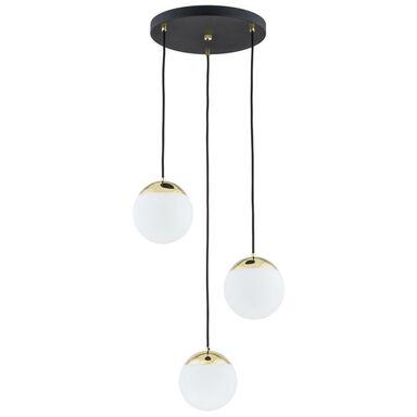 Lampa wisząca LIVIA IP22 biało-złota E27 PREZENT