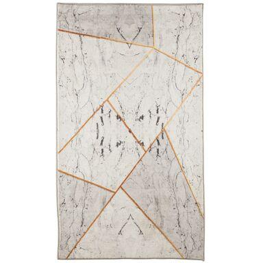 Dywan Toronto szaro-złoty 120 x 160 cm