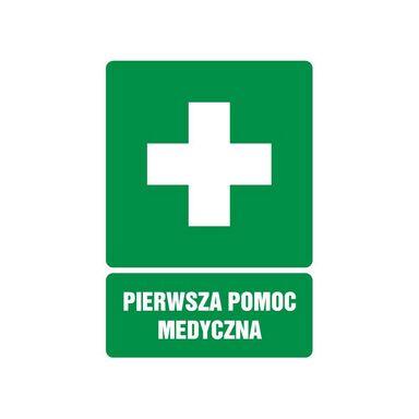 Znak informacyjny APTECZKA
