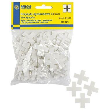 Krzyżyki 8,0 MM 50 SZT MEGA