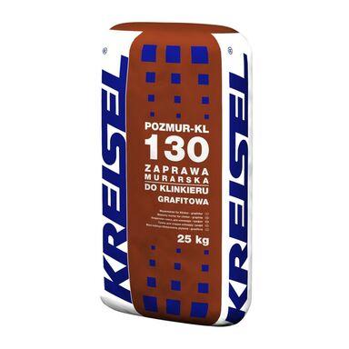Zaprawa klejowa DO KLINKIERU POZMUR-KL 130 Grafitowa 25 kg KREISEL