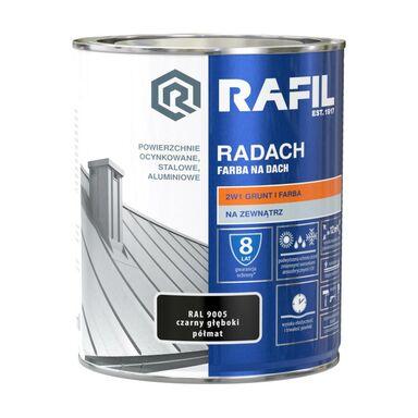 Farba na dach RADACH 0.75 l RAL-9005 Czarny głęboki RAFIL