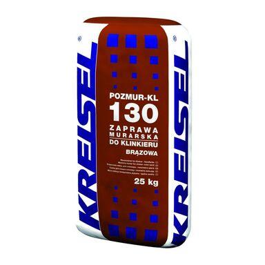 Zaprawa klejowa DO KLINKIERU POZMUR-KL 130 Brązowa 25 kg KREISEL