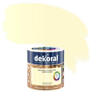 Farba wewnętrzna AKRYLIT W 2.5 l Migdałowy DEKORAL