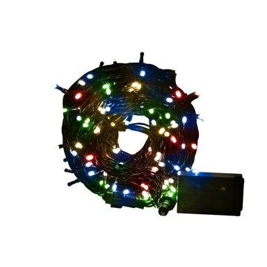 Lampki choinkowe SZNUR dł. 1145 cm 200 LED multikolor CORTINA