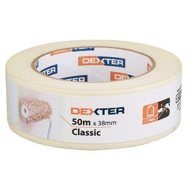 Taśma malarska CLASSIC 38 mm x 50 m DEXTER