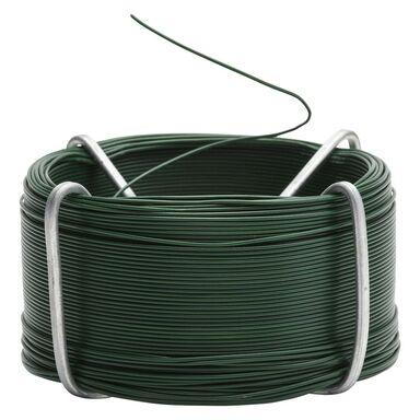 Drut stalowy powlekany 0.8mm x 75m zielony STANDERS