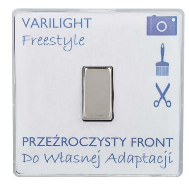 Włącznik pojedynczy FREESTYLE  Transparentny  VARILIGHT