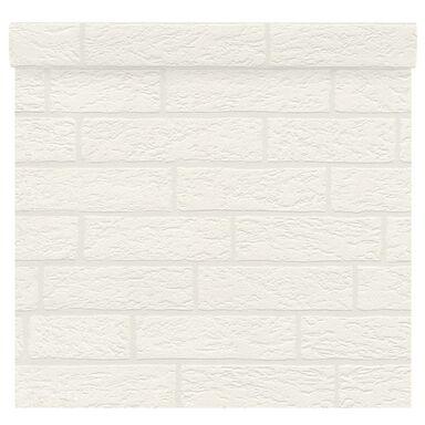 Tapeta BRICE biała imitacja cegły winylowa na flizelinie INSPIRE