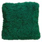 Poduszka Futrzak zielona 40 x 40 cm