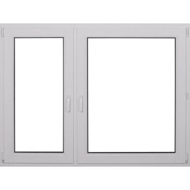 Okno PCV 2-szybowe O19 Białe 1465 x 1135 mm