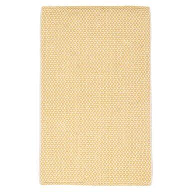 Dywan ADEL żółty 65 x 110 cm wys. runa 5 mm INSPIRE