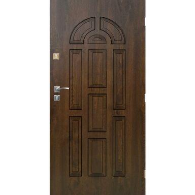 Drzwi wejściowe VALENCIA Orzech 80 Prawe SEDRO
