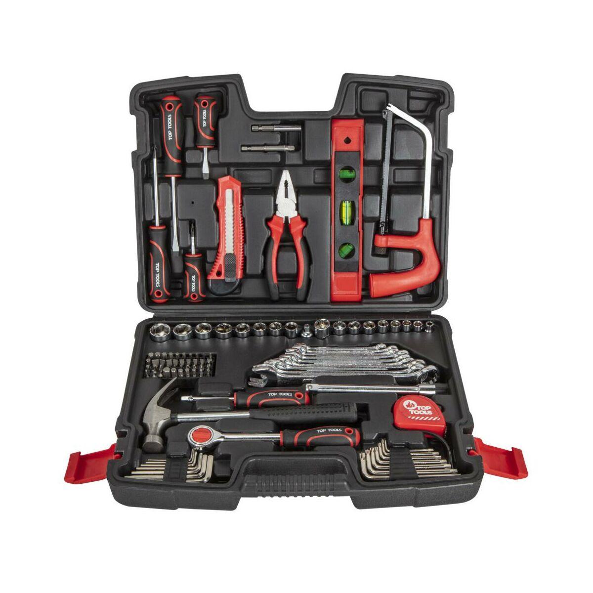 Zestaw Narzedzi 38d535 100 Szt Top Tools Zestawy Narzedzi W Atrakcyjnej Cenie W Sklepach Leroy Merlin