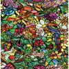 Okleina Tulia witraż multikolor 45 x 200 cm