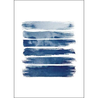 Roll canvas NIEBIESKIE IKIGAI 50 x 70 cm