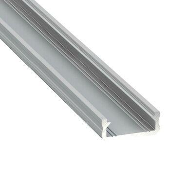 Profil aluminiowy do taśm LED TYP D dł. 2 m osłona mleczna EKO-LIGHT