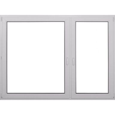Okno PVC BÍLÉ O38 RU+R