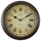 Zegar ścienny Claridge śr. 29.5 cm brązowy