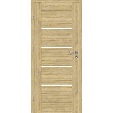 Skrzydło drzwiowe pokojowe Malibu Dąb Bawaria 70 Lewe Voster