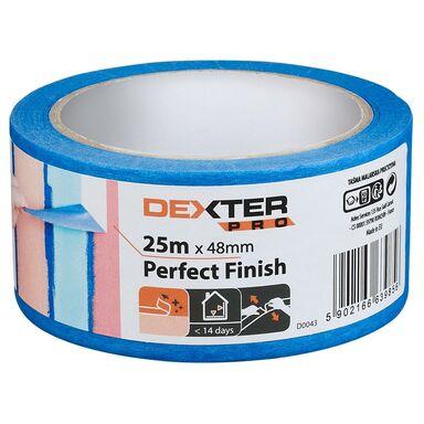 Taśma malarska PERFECT FINISH 48 mm x 25 m DEXTER