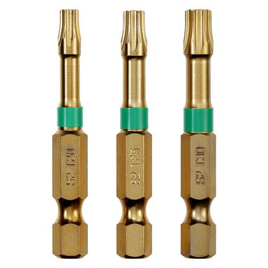 Bity skrętne T20/25/30 50 mm 3 szt. DEXTER PRO