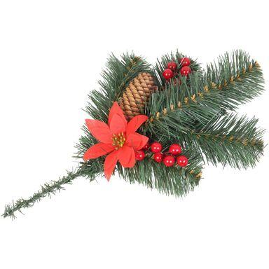 Gałązka dekoracyjna z kwiatem 20 cm 1 szt