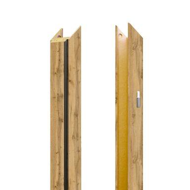 Baza lewa ościeżnicy regulowanej Dąb Wotan 180 - 220 mm Nawadoor