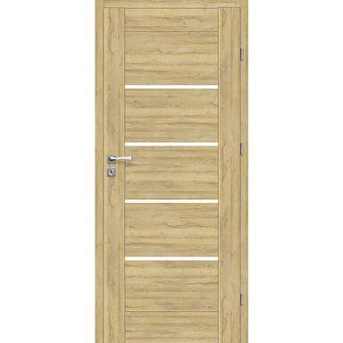 Skrzydło drzwiowe pokojowe Malibu Dąb Bawaria 90 Prawe Voster