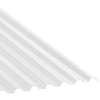 Płyta trapezowa PVC Przezroczysta 250 x 90 cm