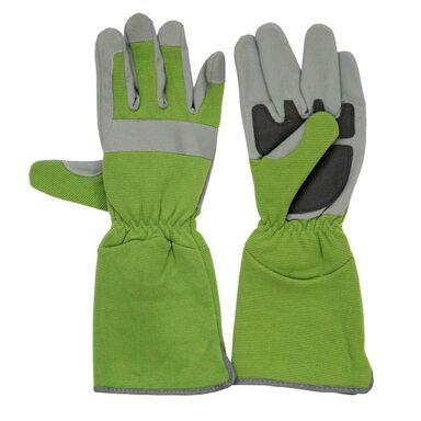 Rękawice ogrodowe długie MIX r. L / 8 RIM KOWALCZYK