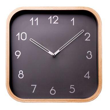 Zegar ścienny MACHO 23 x 23 cm grafitowy