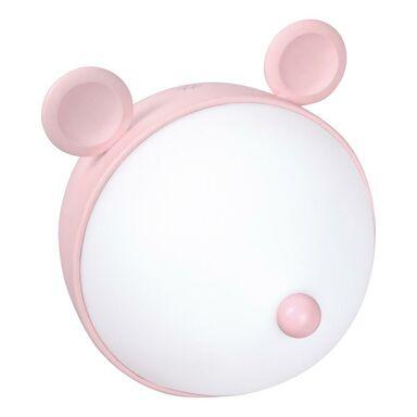 Lampka dziecięca MIKI biało-różowa LED ACTIVEJET
