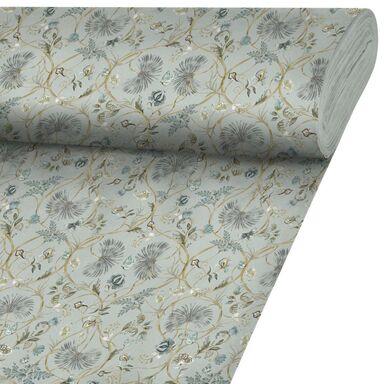 Tkanina na mb JANDEL niebieska szer. 140 cm INSPIRE