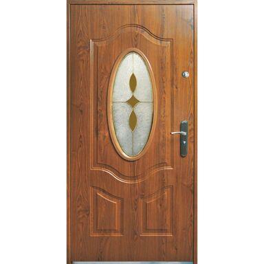 Drzwi wejściowe TENERYFA Orzech 90 Lewe S-DOOR