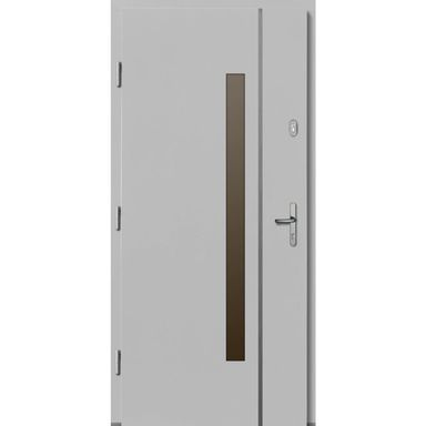 Drzwi wejściowe KALIPSO Białe 90 Lewe