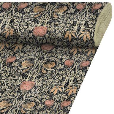 Tkanina na mb Walvet brązowa szer. 140 cm Inspire