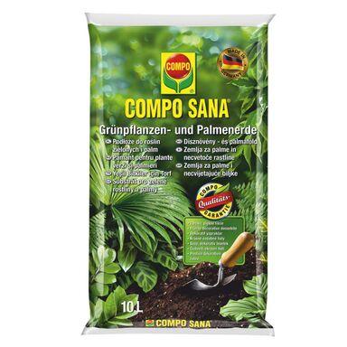 Podłoże do roślin zielonych i palm 10 l COMPO SANA