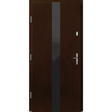 Drzwi wejściowe DORADO Orzech 90 Lewe