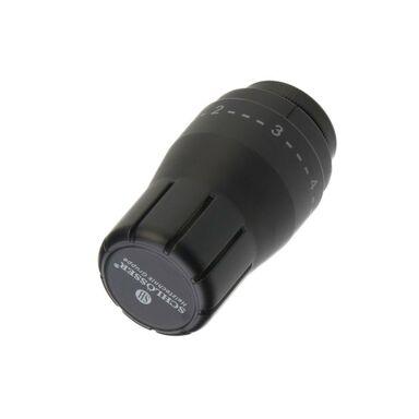 Głowica termostatyczna M30 x 1.5 DIAMANT STD CZARNY MAT SCHLOSSER
