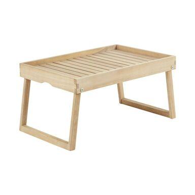 Stolik / Tacka SOLIS 35 x 55 cm drewniany NATERIAL