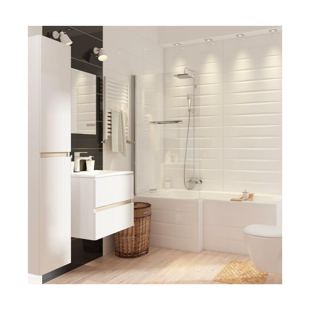 Lustro łazienkowe Bez Oświetlenia Kwadratowe 60 X 60 60 X 60 Cm Dubiel Vitrum