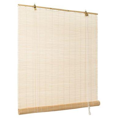Roleta okienna bambusowa NATURAL 80 x 180 cm