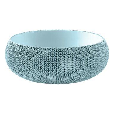 Doniczka plastikowa 54.1 cm niebieska COZIES L KETER