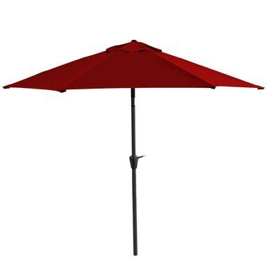 Parasol ogrodowy śr. 300 cm bordowy HAVANA