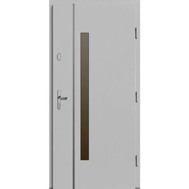 Drzwi wejściowe KALIPSO Białe 90 Prawe