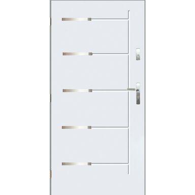 Drzwi wejściowe KRONOS Białe 90 Lewe PANTOR