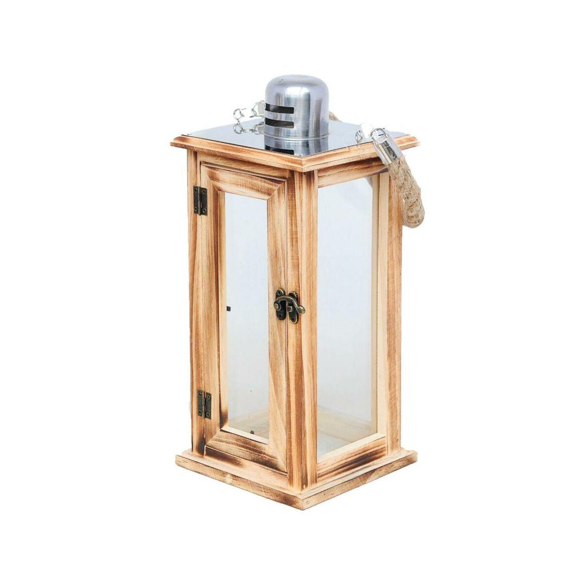 Latarnia Drewniana Na Swieczke 34 X 15 X 15 Cm Palermo Latarenki Pochodnie I Lampiony W Atrakcyjnej Cenie W Sklepach Leroy Merlin