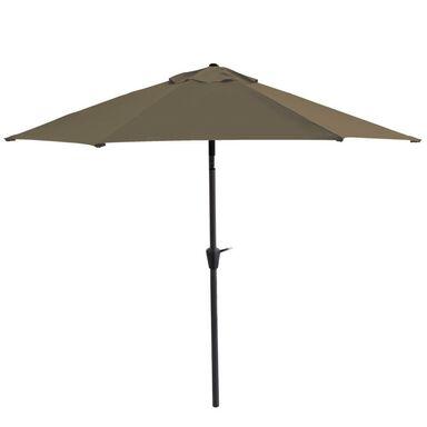 Parasol ogrodowy śr. 300 cm brązowy HAVANA