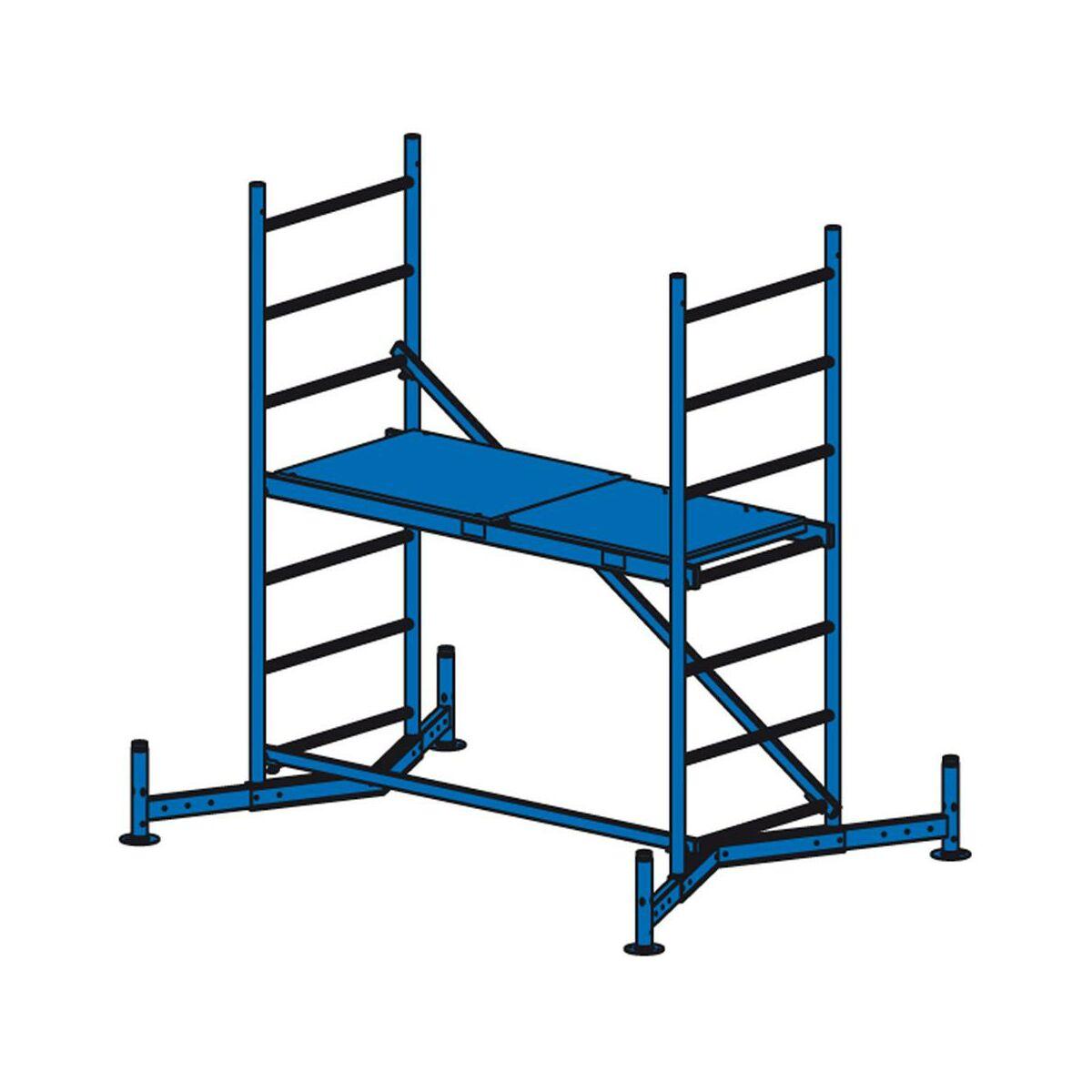 Podstawa Rusztowania Climtec 3 M Krause Rusztowania W Atrakcyjnej Cenie W Sklepach Leroy Merlin